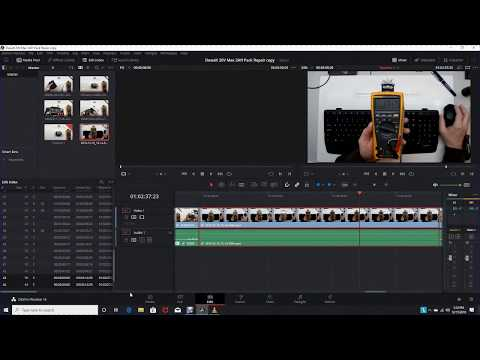MP4 Import Issues in DaVinci Resolve 16