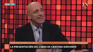 El libro de Cristina Kirchner, la Feria del Libro y las repercusiones políticas