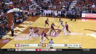 Alabama at Texas | 2016-17 Big 12 Men