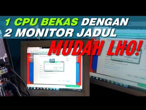 Cara Membagi Monitor Menjadi 2 Layar | Multitasking Windows 7.