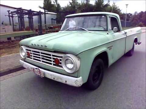 1966 Dodge D100 truck survivor - YouTube