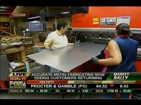 Accurate Metal Fabricating - Special Report on Manufacturing in America