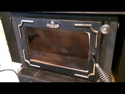 Osburn Fireplace Insert Controls Faceplates Late Eighties Model