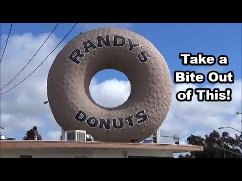 Randy's Donuts, The Forum, and Circus Performers - Inglewood, California