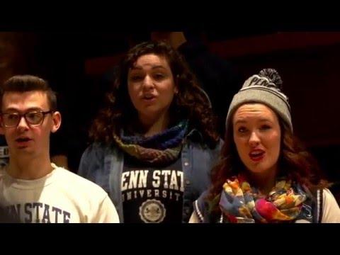 Penn State Concert Choir Sings Alma Mater