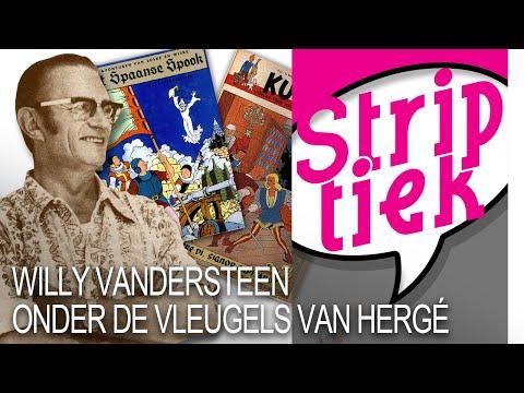Willy Vandersteen onder de vleugels van Hergé