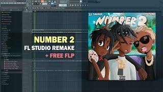 KSI - Number 2 ft. Future & 21 Savage (Instrumental) + Free FLP Remake