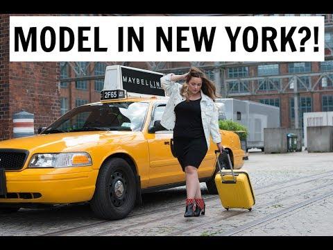 PLUSSIZE MODEL IN NEW YORK?! Mein Shooting