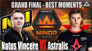 Na'Vi vs Astralis - FACEIT MAJOR | Финал | Лучшие моменты | CSGO