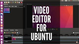 Video editor for ubuntu