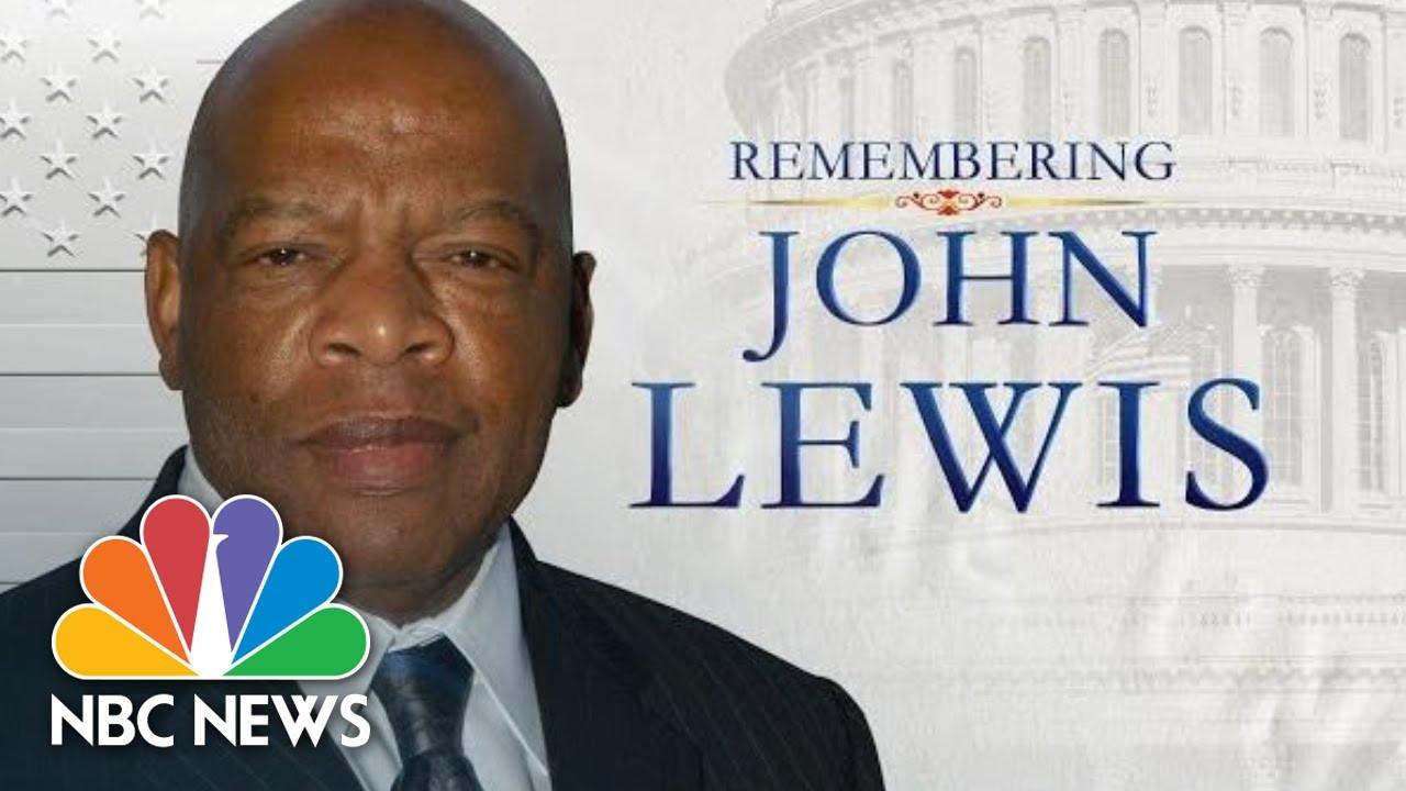 Photos: A nation's final farewell to John Lewis