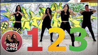 Sofia Reyes - 1, 2, 3 (ft. J. Derulo & L. Ghetto) BALLO DI GRUPPO | Easydance Choreo - Fitness Dance Video