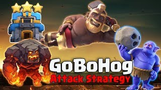 TH12 GoBoHog Attack Strategy 2018! Hog Army Smashing 3Star 3 inferno TH12 Bases | Clash Of Clans