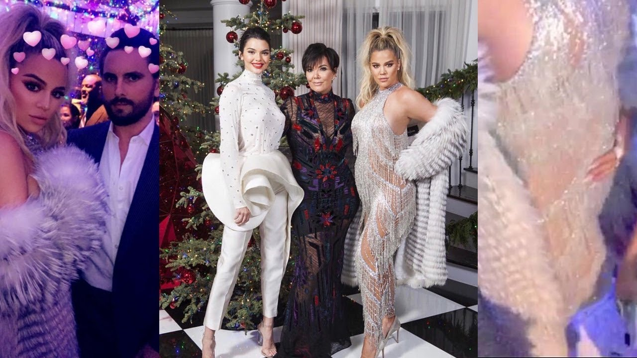Kardashian Christmas Party 2017 - YouTube