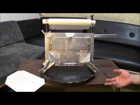 Incinerator Toilet Liner Maker, Cool Mechanical Device For Living Off-Grid Or At Sea.