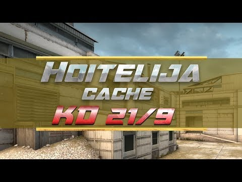 Hoitelija KD 21/9 cache