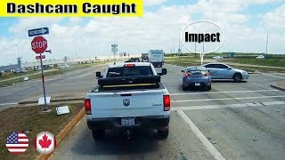 Ultimate North American Cars Driving Fails Compilation - 165 [Dash Cam Caught Video]