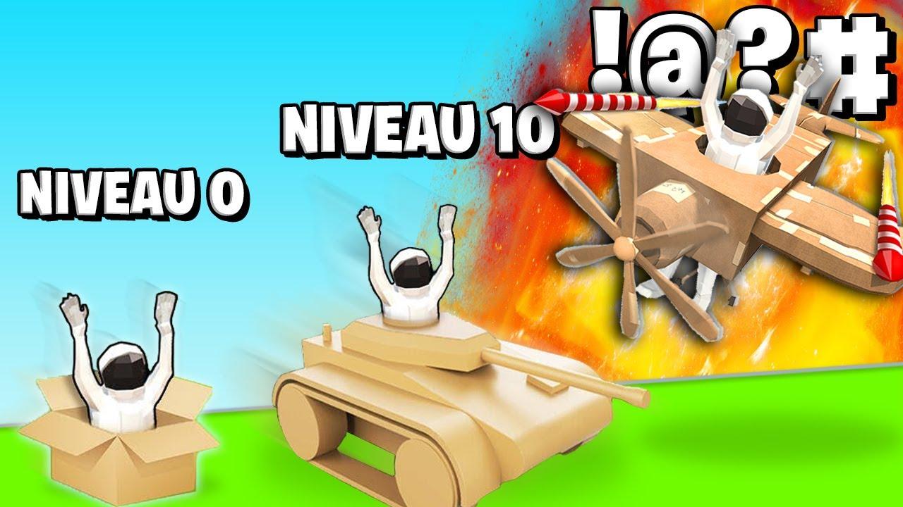 Download LA MEILLEURE ÉVOLUTION DE VOITURE EN CARTON ! (Make It Fly)
