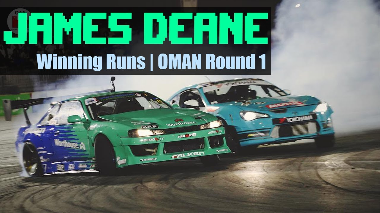 JAMES DEANE Winning Runs | Oman International Drift 2019 | Top 16 and FINAL