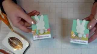 March 2013 Online Classroom - Easter Bunny Candy Box Treat Favor
