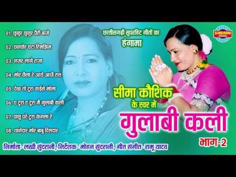 GULABI KALI BHAG 2 - गुलाबी कलि भाग 2 - Sima Kaushik - Audio Jukebox - Chhattisgarhi Lok Geet