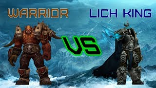 Прохождение босса Короля Лича за Воина |  Warrior vs Lich king (Хартстоун)