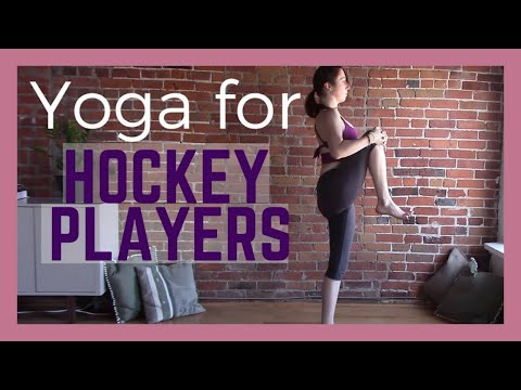 Yoga For Hockey Players 30 Minute Yoga Class Youtube
