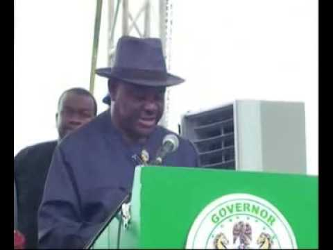 Launch of the clean-up of Ogoni land
