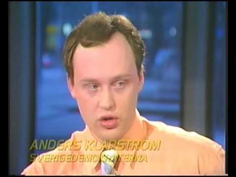 Anders Klarström vs Stieg Larsson & Anna Lena Lodenius i 20:00 1991
