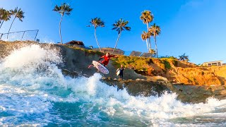 WALL SURFING IN CALIFORNIA!