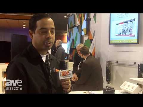 ISE 2016: Avenview Showcases AVXWALL Video Wall Solution