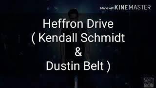 Kendall Schmidt - don't let me go - lyrics