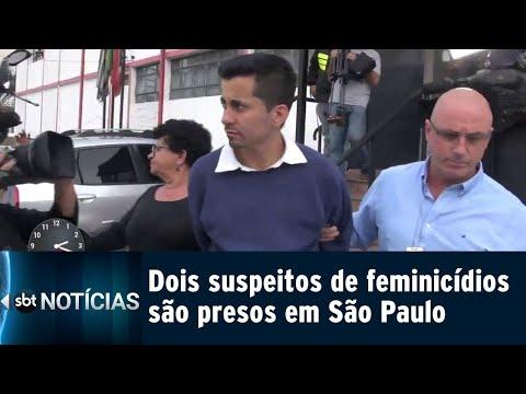 Acusado de matar e esconder o corpo da namorada é preso em São Paulo | SBT Notícias (09/08/18)