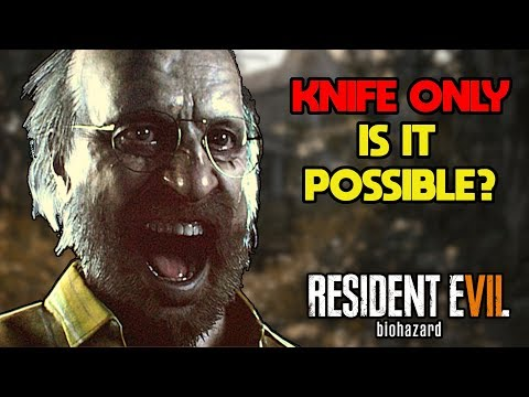 Can You Beat Resident Evil 7 With Only a Knife?