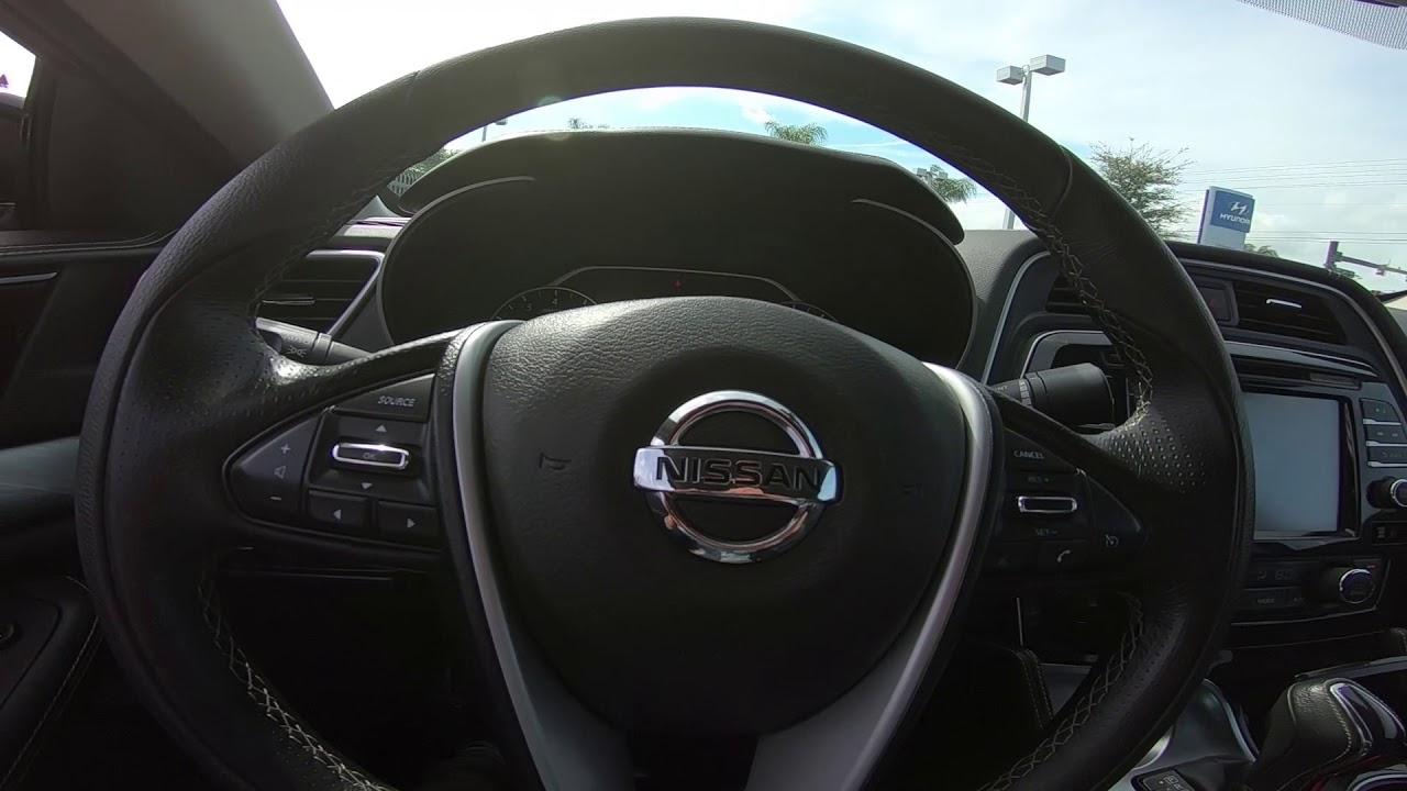 Nissan Maxima 2017 Interior >> 2017 Nissan Maxima Sv Interior
