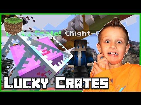 Lucky Crates / Minecraft