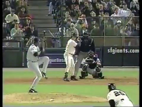 J.T. Snow 3-run HR off Armando Benitez - 2000 NLDS Game 2