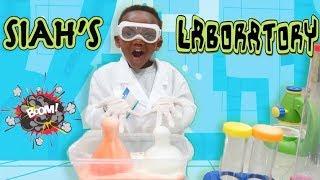 Super Siah Transforms Into A Scientist