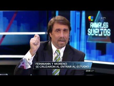 Animales tensos: Así fue el incidente entre Guillermo Moreno y Eduardo Feinmann