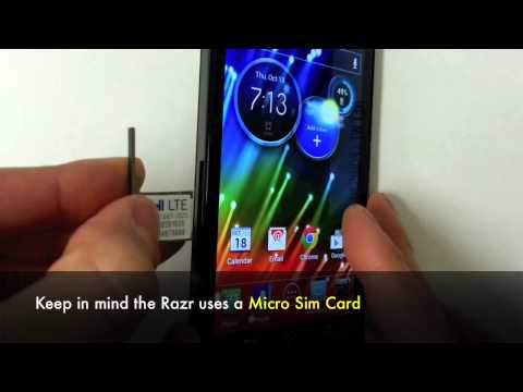 How to Unlock Motorola Razr HD XT925, Razr I XT890, Razr V XT886 by Unlock Code