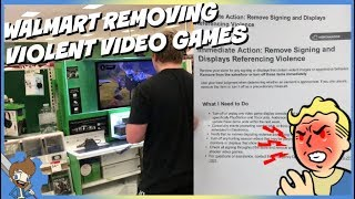 Walmart Ordering Employees To Remove Violent Video Game Displays