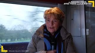 Déplacement Nièvre - Jour 2 - Trajet TER Nevers / Decize