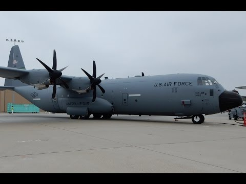 Lockheed Martin C-130J Super Hercules Walk-Around at Camarillo Airshow 2015