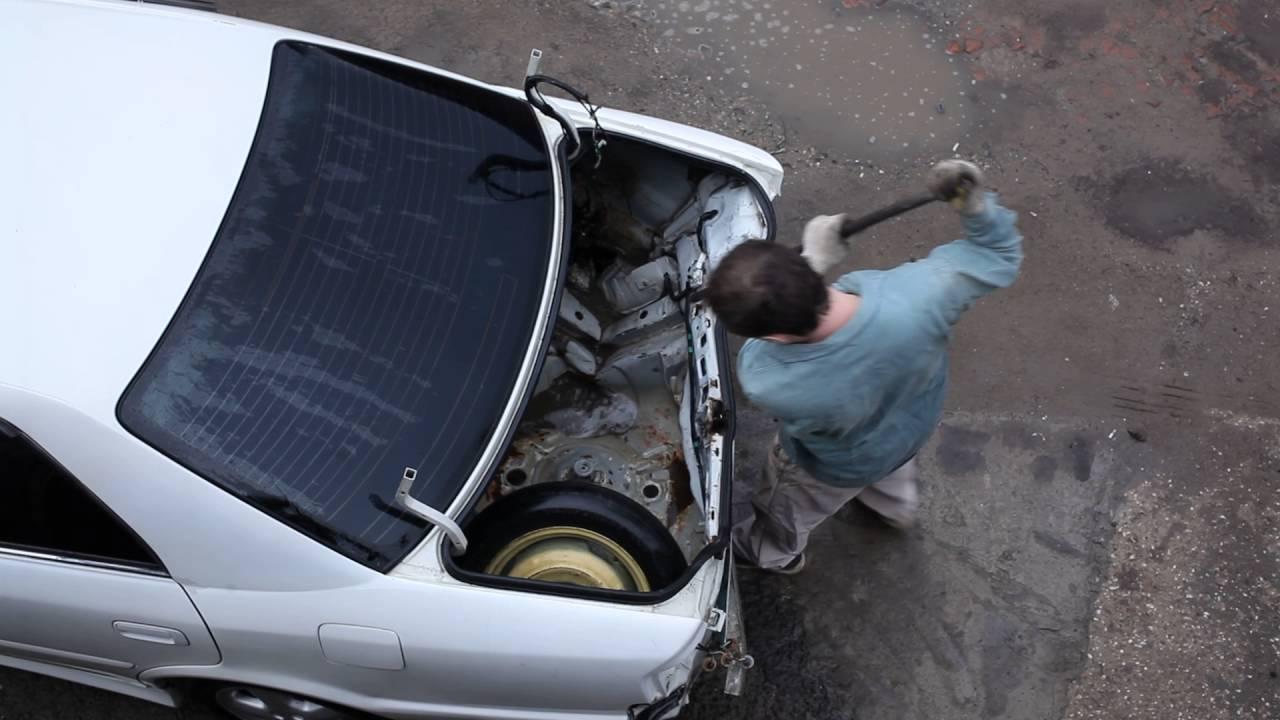 Начало ремонта Toyota Chaser
