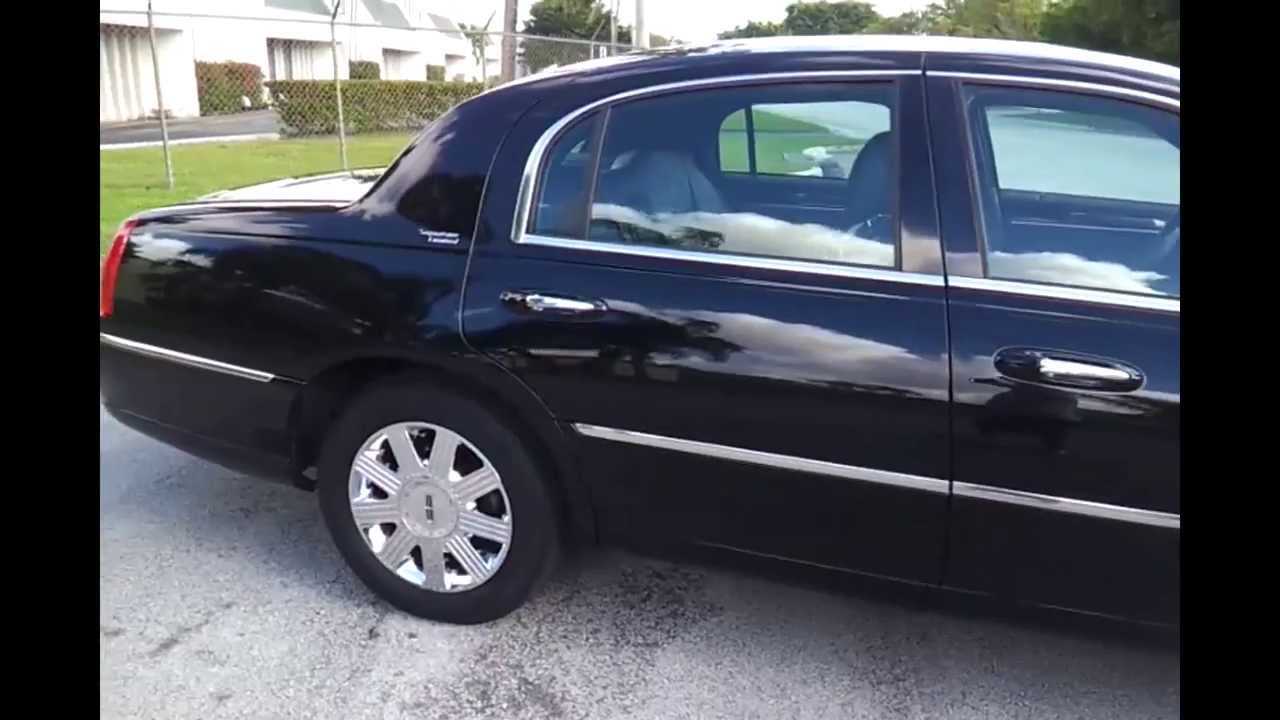 Net 2009 Lincoln Town Car Signature Limited Edition Sedan You