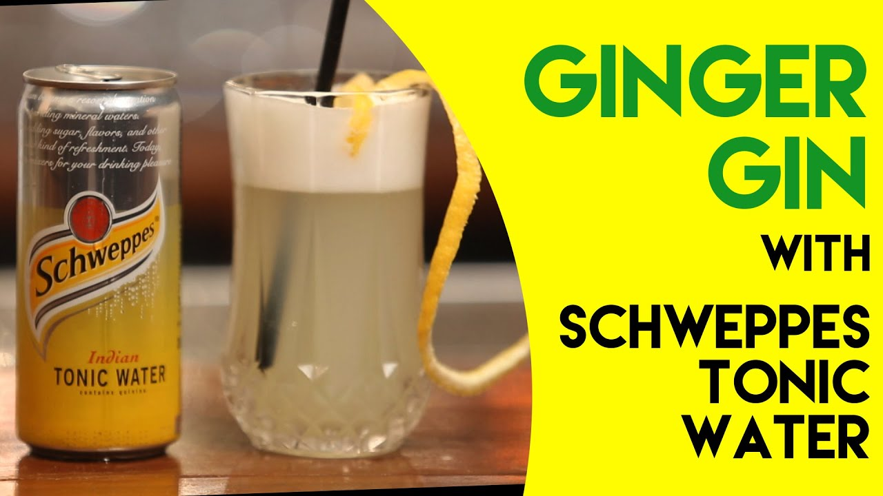 Ginger gin mix the fizz schweppes youtube for Best mix with gin