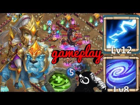 Lady Leo | Empower | Regenerate | 12 Skill | Gameplay | Castle Clash