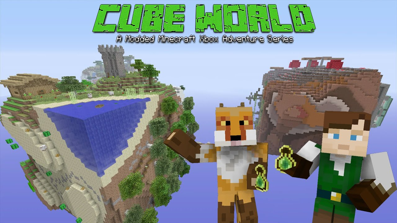 Modded minecraft xbox cube world feelin woozy1 youtube sciox Images