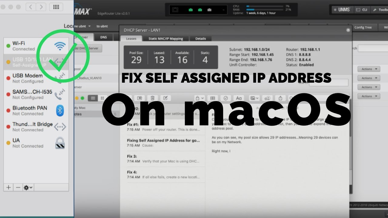 maxresdefault - How To Get Rid Of Self Assigned Ip On Mac