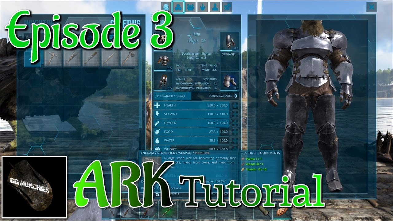 Ark tutorial how to craft tools youtube ark tutorial how to craft tools malvernweather Image collections